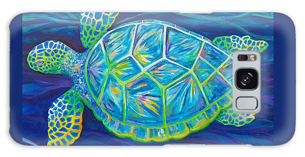 Sea Turtle I Galaxy Case by Anne Marie Brown
