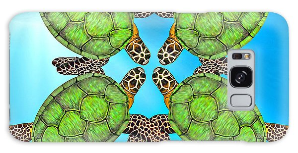 Turtle Galaxy Case - Sea Turtles by Betsy Knapp