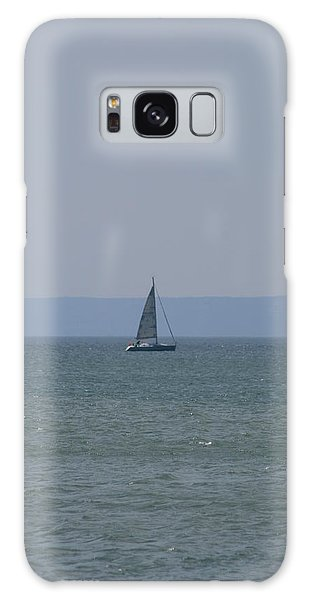 Sea Yacht  Land Sky Galaxy Case by Phoenix De Vries