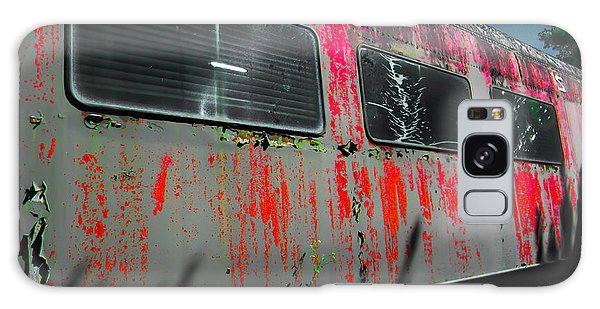 Seaboard Railroad Car Galaxy Case by Christy Usilton