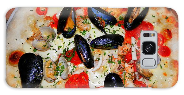 Seafood Pizza Galaxy Case