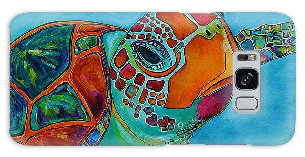 Seaglass Sea Turtle Galaxy Case