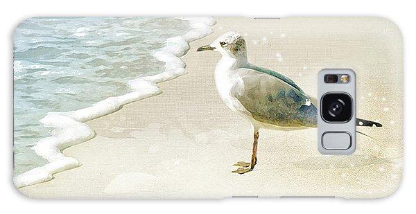 Seagull 2 Plum Island Galaxy Case by Karen Lynch