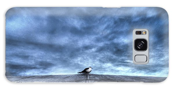 Seagull At Rest Galaxy Case by Rafael Quirindongo