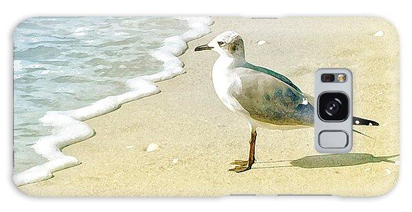Seagull Galaxy Case by Karen Lynch