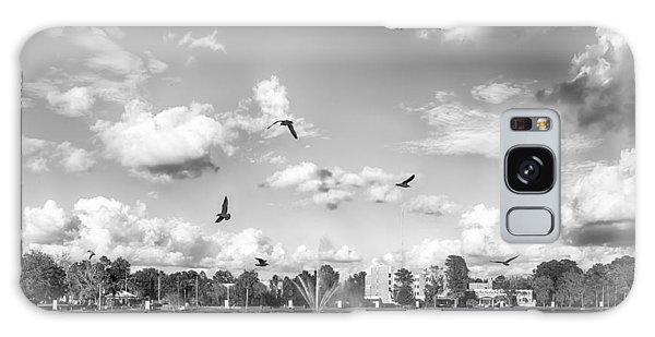 Seagulls Galaxy Case by Howard Salmon