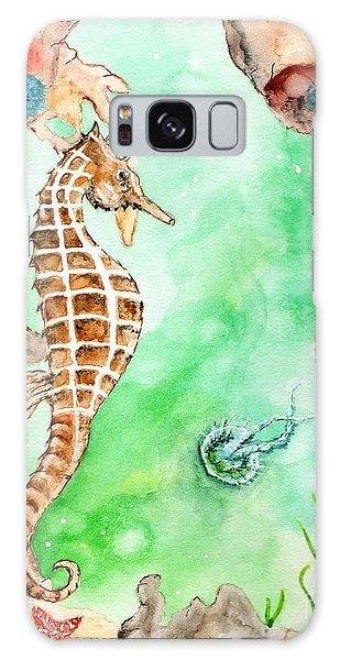 Seahorse Cave Galaxy Case