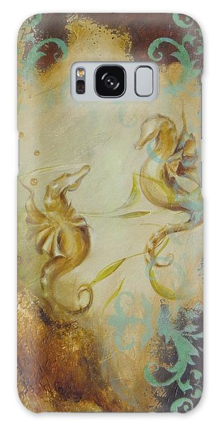 Seahorse Dream 1 Galaxy Case by Dina Dargo