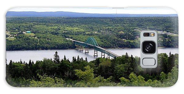 Seal Island Bridge Galaxy Case by Jason Lees