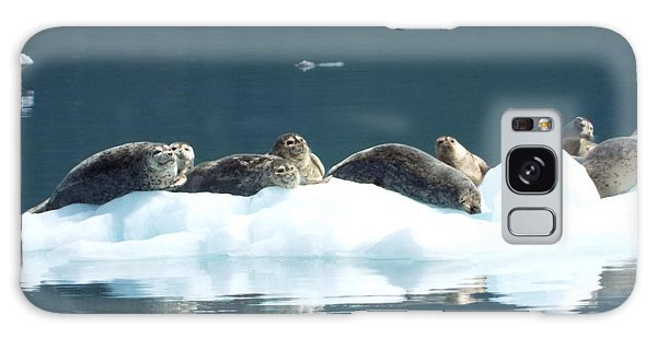 Seal Reflections Galaxy Case