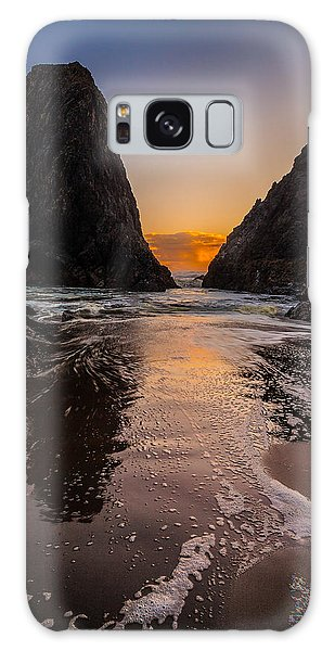 Seal Rock 1 Galaxy Case