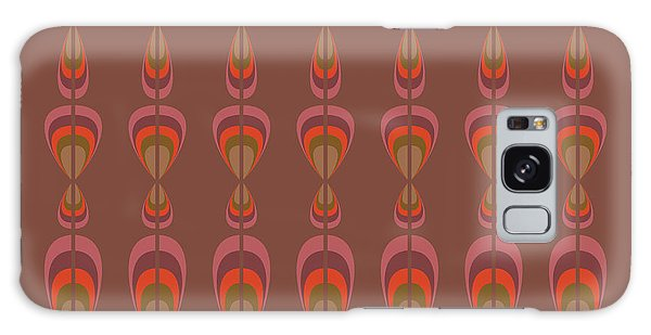 1950s Galaxy Case - Seamless Geometric Vintage Wallpaper by Leszek Glasner