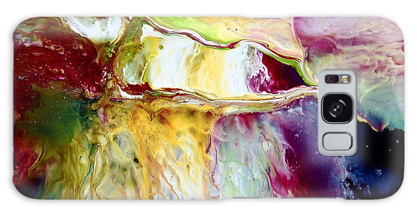 Seamless Transition Colorful Abstract Galaxy Case