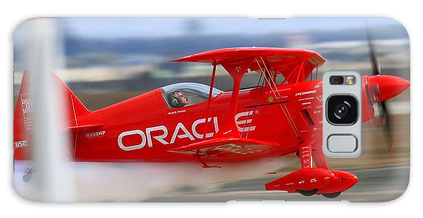 Galaxy Case featuring the photograph Sean Tucker And The Oracle Challenger II At Salinas Airshow by John King