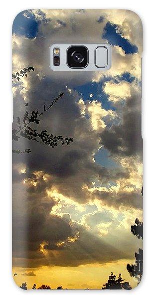 Desert Sunset Galaxy S8 Case - Searchlight by Glenn McCarthy Art and Photography