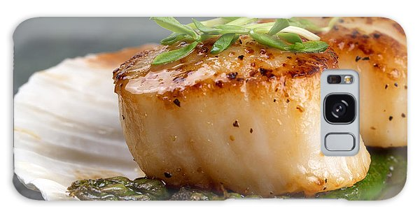 Seared Scallops Galaxy Case