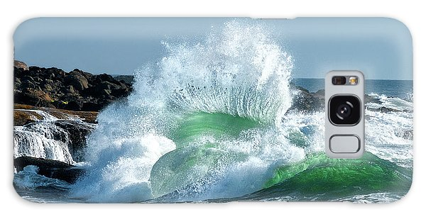 Splash Galaxy Case - Seascape 3 by David Rothstein