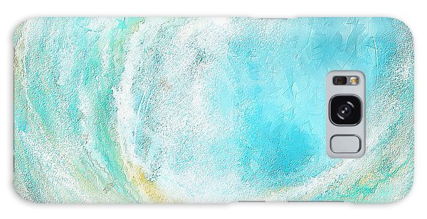 Seascapes Abstract Art - Mesmerized Galaxy Case
