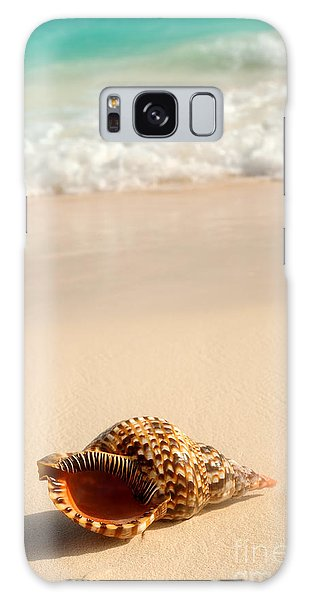 Seashell And Ocean Wave Galaxy Case
