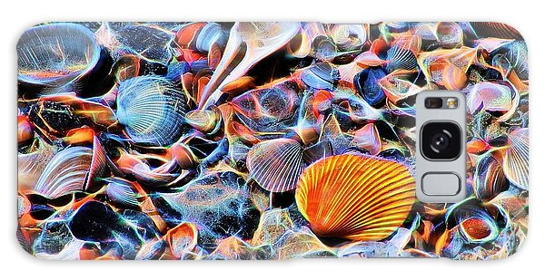Seashells At The Seashore Galaxy Case by Ludwig Keck