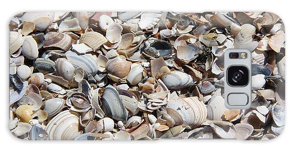Seashells On The Beach Galaxy Case