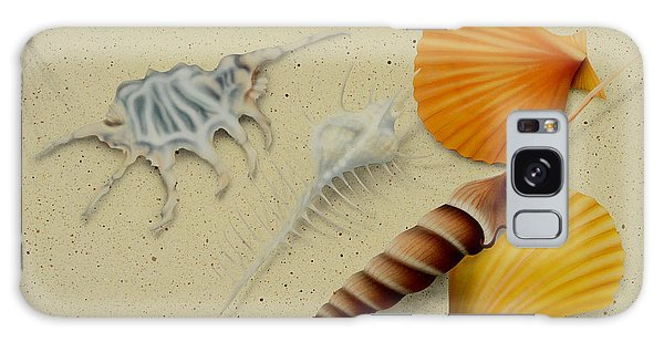 Seashells Galaxy Case