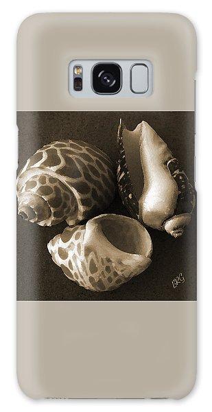 Seashells Spectacular No 1 Galaxy Case