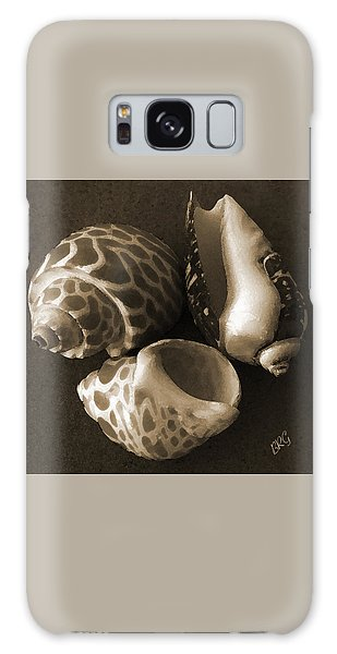 Seashells Spectacular No 1 Galaxy Case by Ben and Raisa Gertsberg