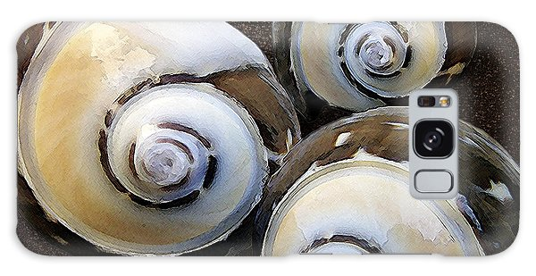 Seashells Spectacular No 23 Galaxy Case