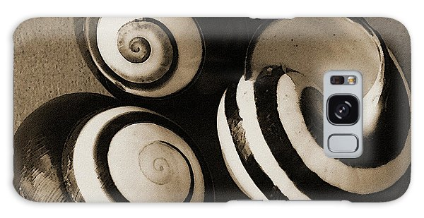 Seashells Spectacular No 27 Galaxy Case