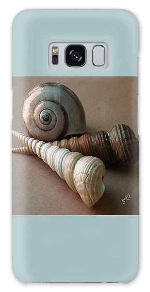 Seashells Spectacular No 29  Galaxy Case