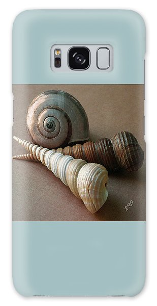 Seashells Spectacular No 29  Galaxy Case by Ben and Raisa Gertsberg