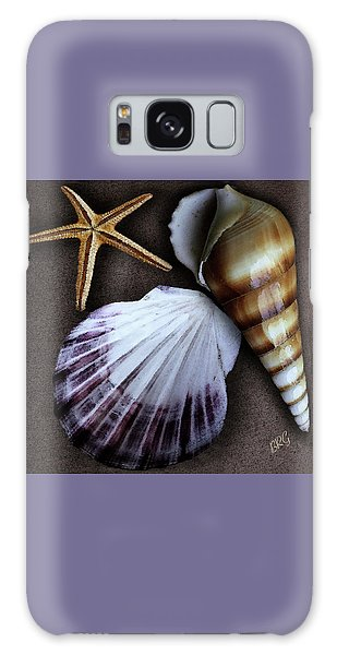 Seashells Spectacular No 37 Galaxy Case by Ben and Raisa Gertsberg