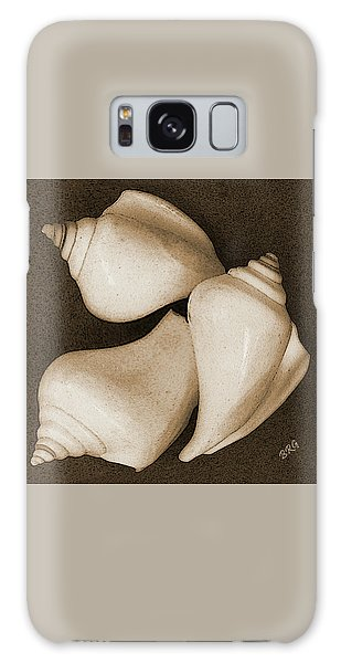 Seashells Spectacular No 4 Galaxy Case