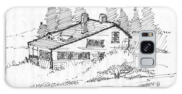 Seaside Cottage Monhegan Island 1993 Galaxy Case