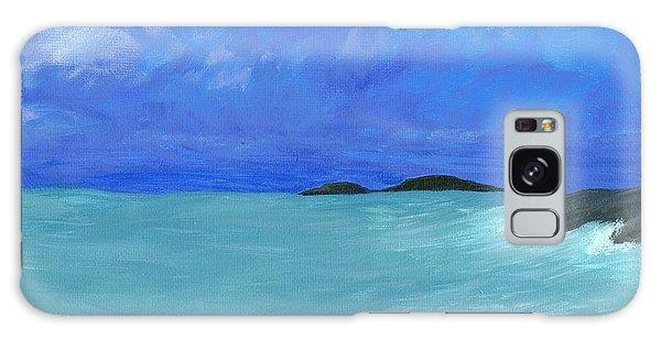 Seaside Galaxy Case by Elizabeth Sullivan