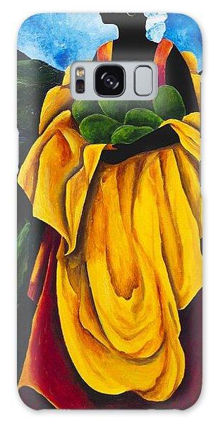 Scarf Galaxy Case - Season Avocado by Patricia Brintle