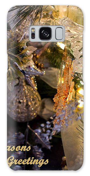 Seasons Greetings Card Galaxy Case by Joanne Smoley