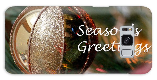 Season's Greetings Galaxy Case by Ivete Basso Photography