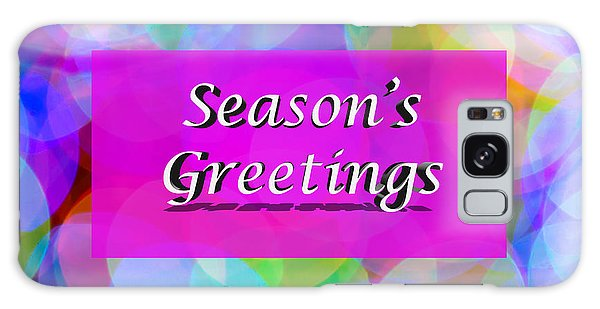 Seasons Greetings Galaxy Case