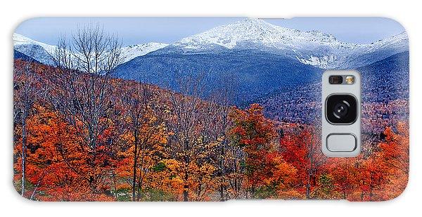 Seasons' Shift #2 - Mount Washington - White Mountains Galaxy Case by Nikolyn McDonald