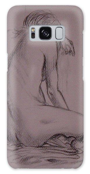 Seated Nude Galaxy Case