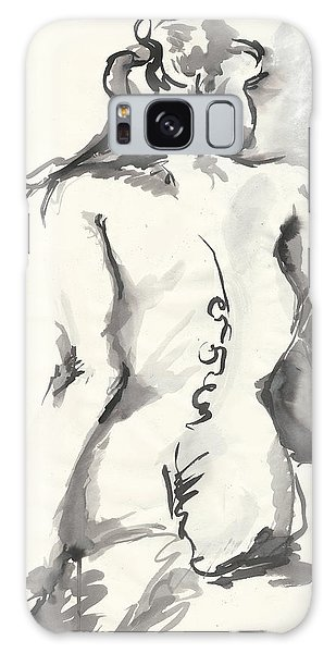 Seated Nude Galaxy Case by Melinda Dare Benfield