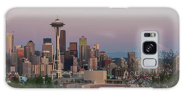 Seattle Sunset Galaxy Case