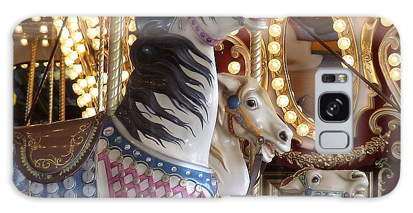 Galaxy Case featuring the photograph Seattle Carousel by Laura  Wong-Rose