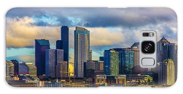 Seattle Cityscape Galaxy Case