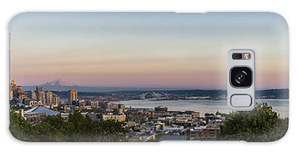 Tree Galaxy Case - Seattle Elliot Bay Panorama Huge by Scott Campbell