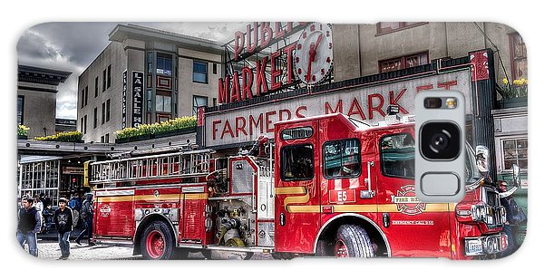 Seattle Fire Engine Galaxy Case
