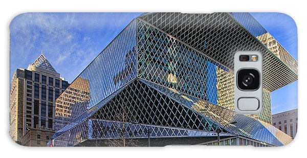 American Steel Galaxy Case - Seattle Library by Inge Johnsson