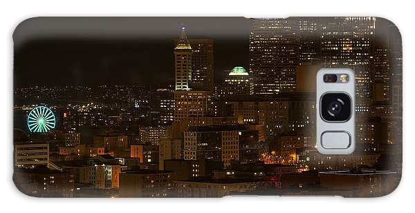 Seattle Lights Too Galaxy Case